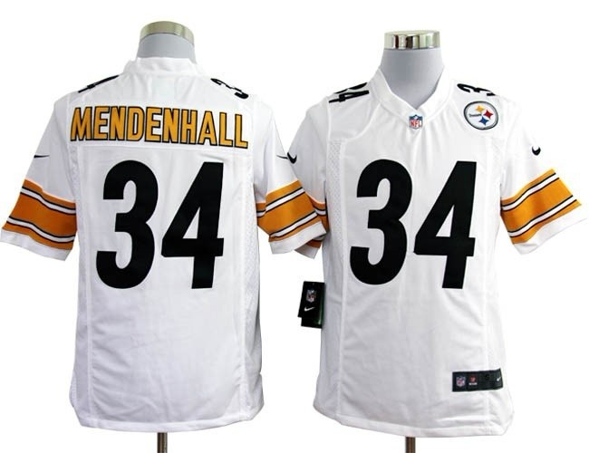 463375678 Team Color Rashard Mendenhall NFL Pittsburgh Steelers 34 Jersey  ID98960285520 Nike Pittsburgh Steelers 34 MENDENHALL Game White Jersey ...