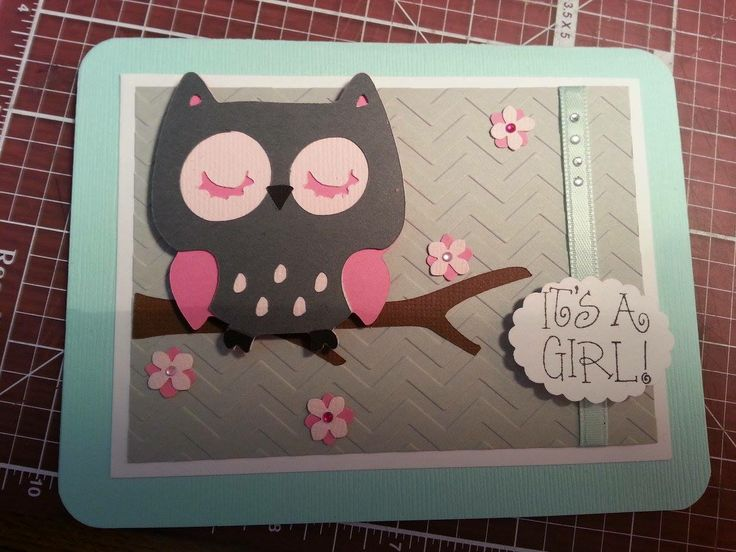 108 best Baby Girl Cards images on Pinterest Baby girl cards