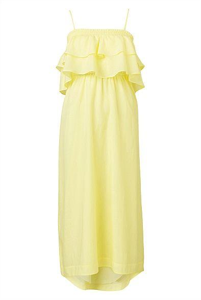Frill Bandeau Dress