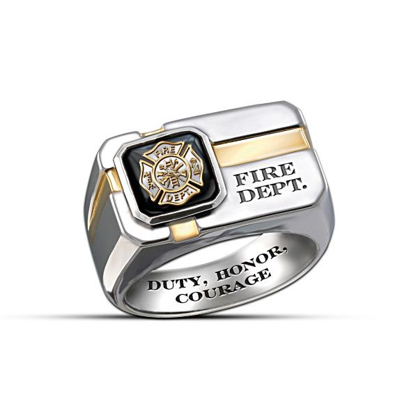 il thin engagement rings like firefighters this titanium listing item line firefighter band red s wedding