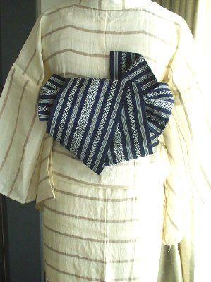 着物諸々 | 半巾帯結び