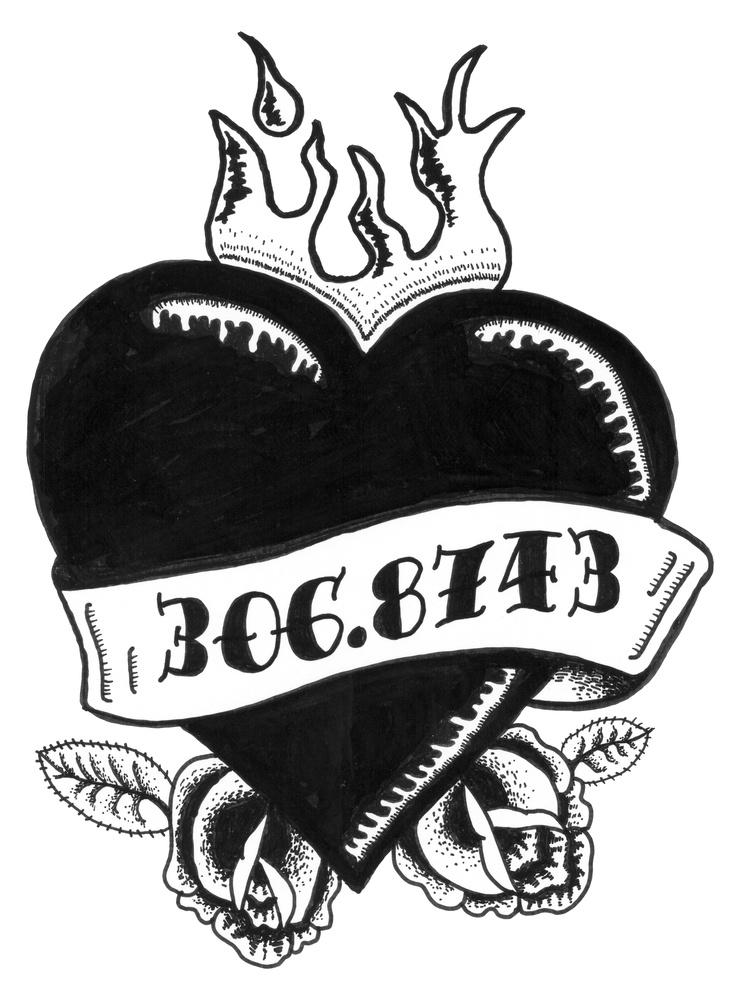 """Pirate Librarian Tattoo   """"Mom"""" (in Dewey Decimal nomenclature)"""