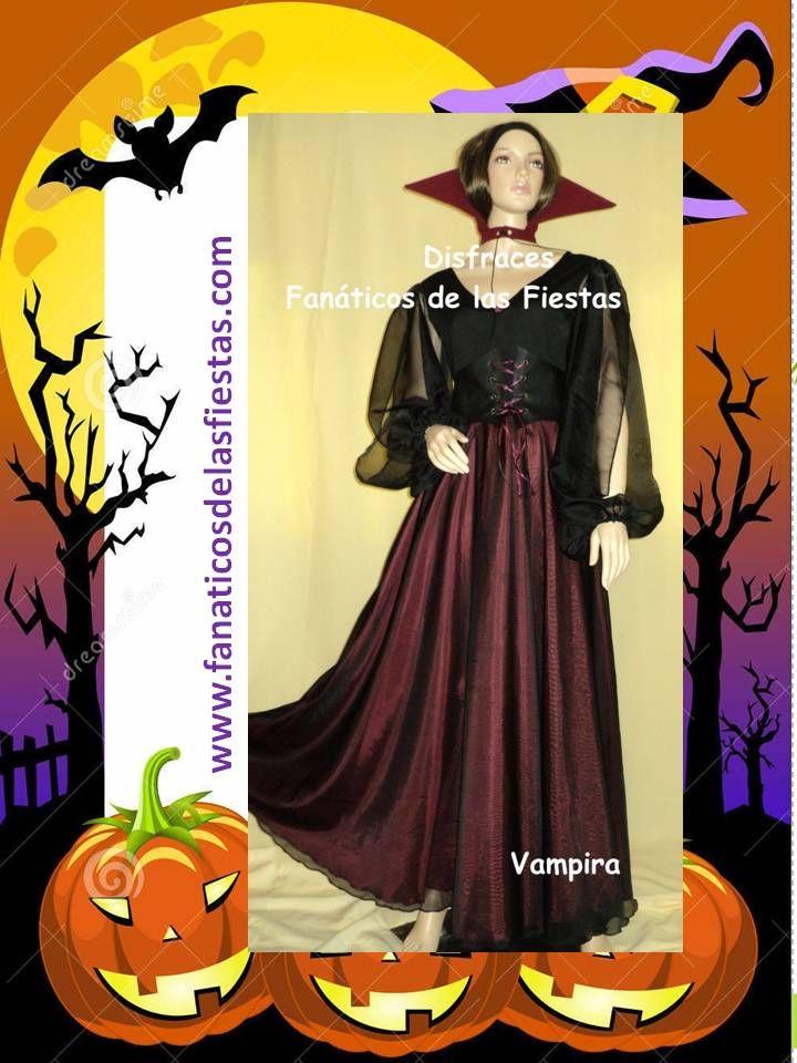 Disfraces de Vampira , disponible en tallas S-M-L  Precio venta 25.000 pesos , productos nuevos de excelente calidad somos Disfraces Fanáticos de las Fiestas www.fanaticosdelasfiestas.com
