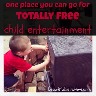 one place you can go for totally free child entertainment: the special store