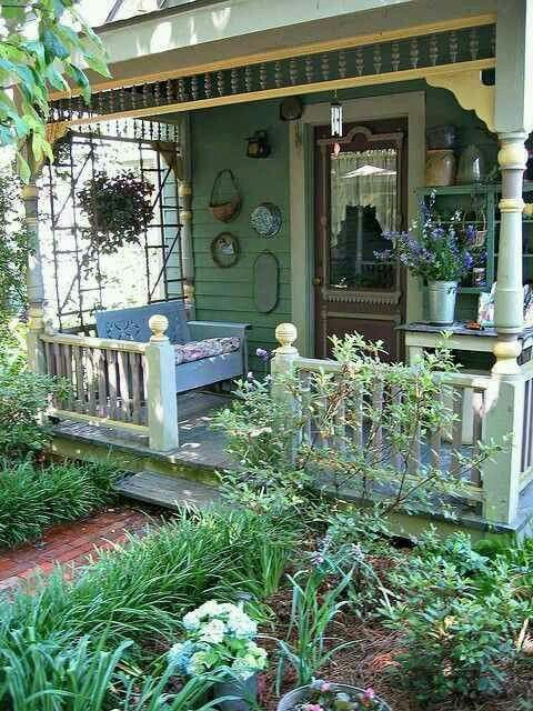 Beautiful, tiny porch