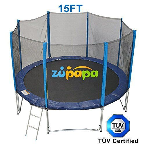 Zupapa Round 14ft Trampoline Frame Safety Enclosure Spring: 1000+ Ideas About Used Trampolines For Sale On Pinterest
