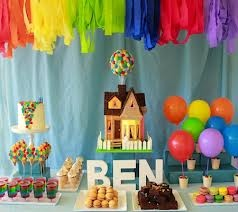 up themed birthday party - Google Search