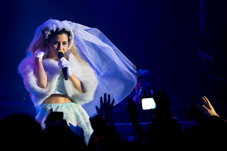 Marina & The Diamonds at the Park West in Chicago. Photos by Brendan Shanley. Review by Marisa Ruiz.