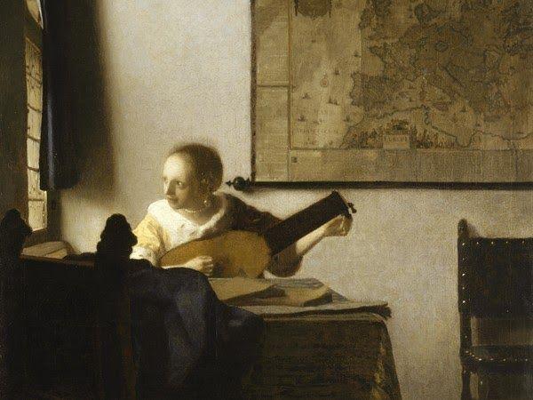#Vermeer, la #suonatrice di #liuto a #Napoli Dal 21# novembre dal #Met di #New…