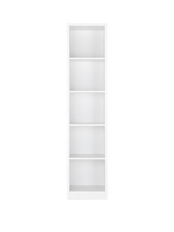 Metro Tall Half-width Extra Deep Bookcase | very.co.uk