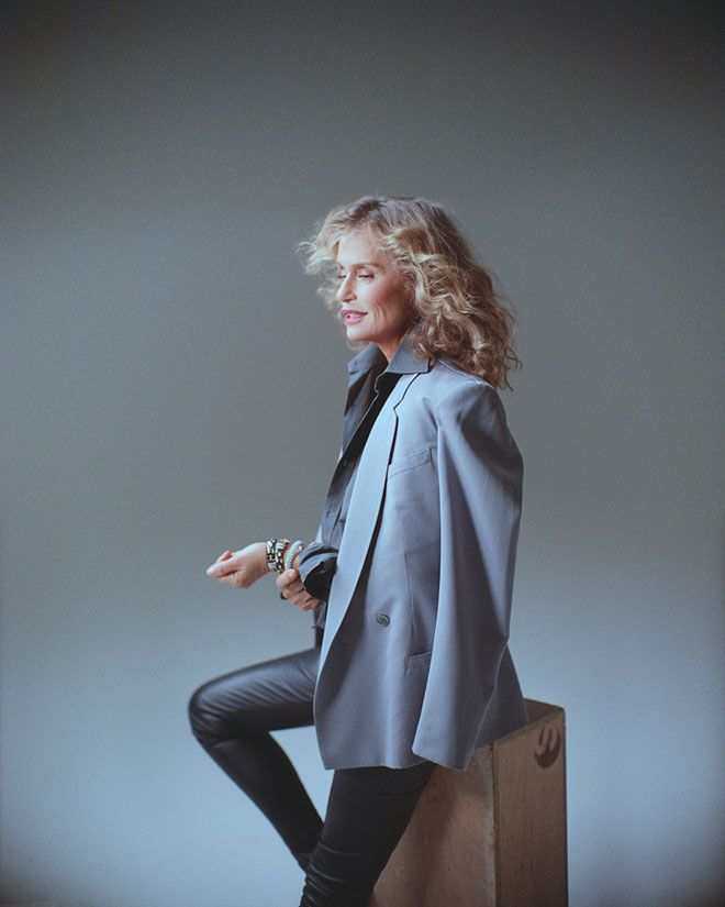 Lauren Hutton: If I look anything like this when I get older... I won't be so afraid.
