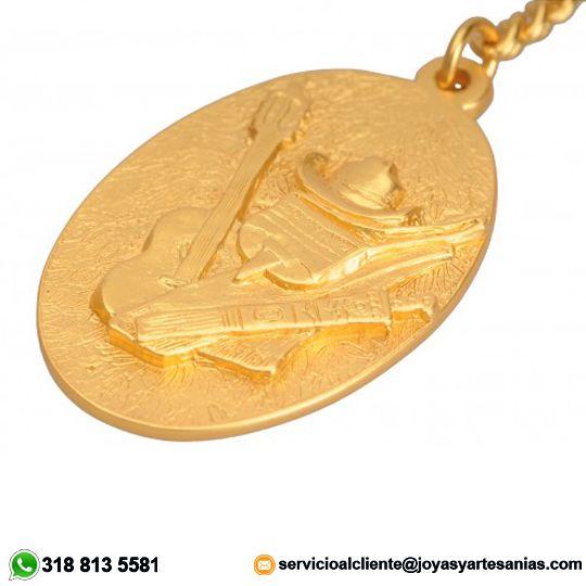 Llavero Orgullo Paisa baño en oro de 24k, #joyasprecolombinas