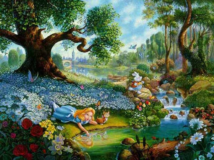 Alice in Wonderland and James and the Giant Peach -Surrealism in Literature