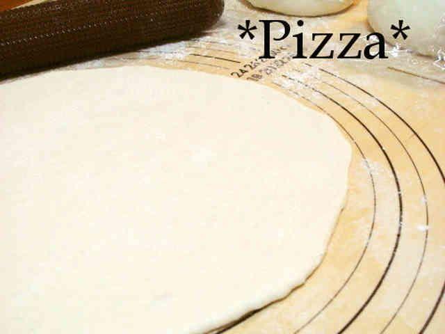 パン派もクリスピー派も納得♪ピザ生地の画像