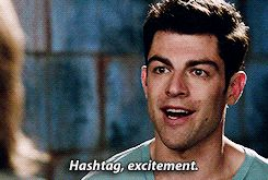 Whenever you try to socialize with real live people. | The 27 Most Relatable Schmidt Quotes