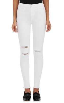 J BRAND Maria High-Waist Skinny Jeans. #jbrand #cloth #jeans