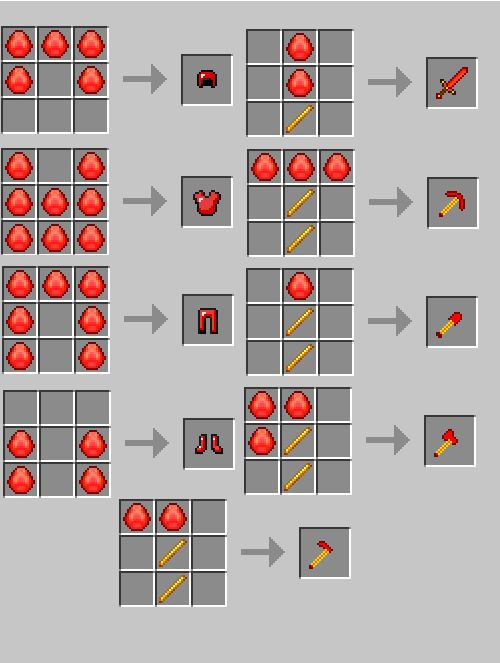 how to make items in minecraft | RW's Gem Mod (WIP) dead ATM - Minecraft Forum