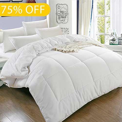 Top 10 Best Comforters For Hot Sleepers In 2018 Reviews Cool Comforters Quilted Duvet Comforters