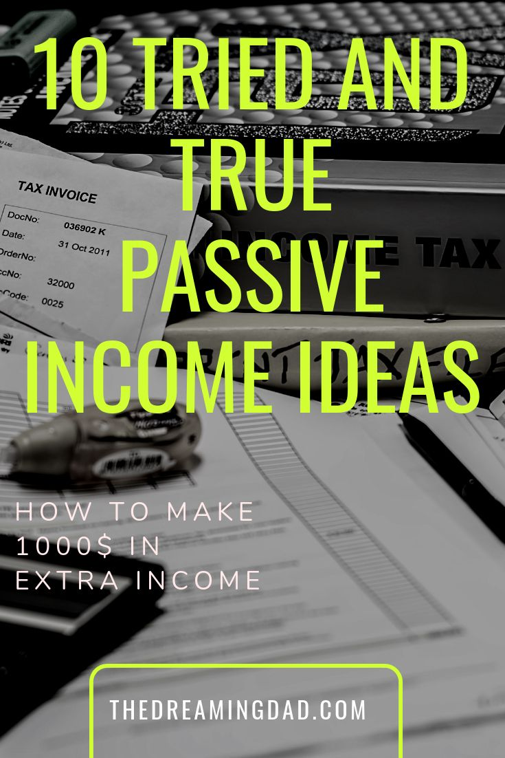 Tried and true passive income ideas – generate extra money while you sleep