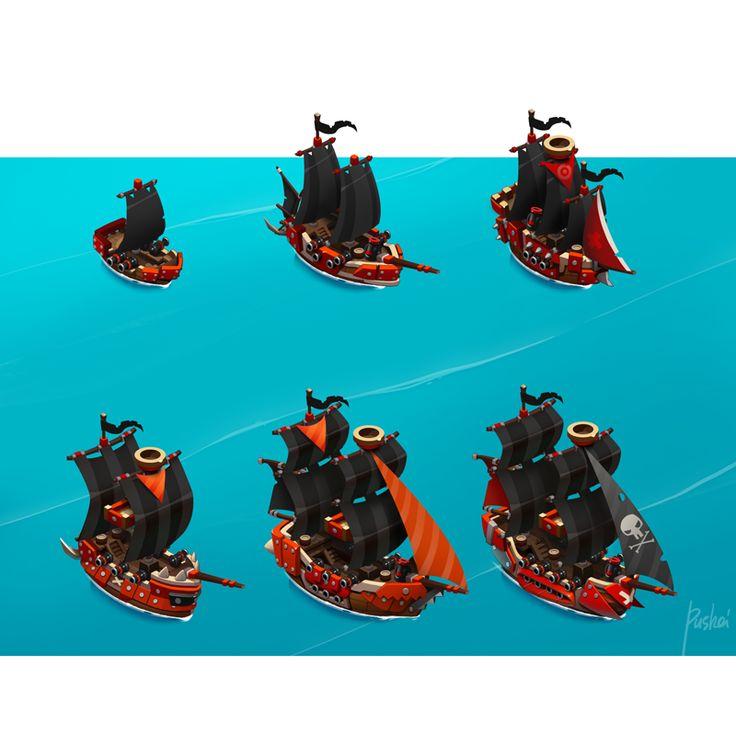 Pirates! on Behance