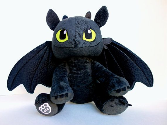 Toy Dragon Wings, Upgraded wings for Build-a-bear Toothless plush