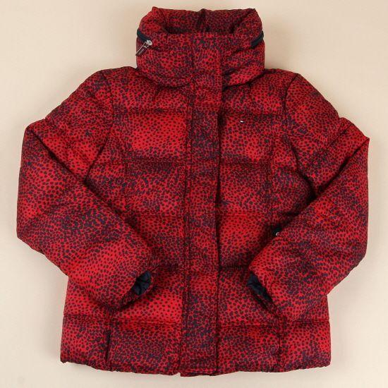 붉은 원숭이를 닮은 어린이용 점퍼! 체리코코 패딩 점퍼를 소개합니다. 강렬한 시즈널 프린트 패턴의 패딩 자켓 스타일로 넥라인을 감싸주어 따듯함을 더해주는 점퍼에요 ;D