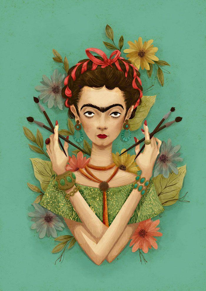 Frida Kahlo by me by instand.deviantart.com on @deviantART