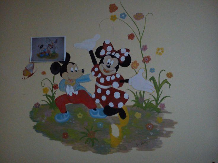 desene pe perete