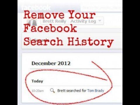 Delete Facebook Search History-Facebook arama geçmişi nasıl silinir?/ Fa...