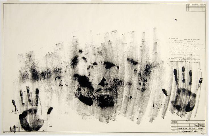 Skin with O'Hara Poem (fig. 4), 1963/5 Jasper Johns