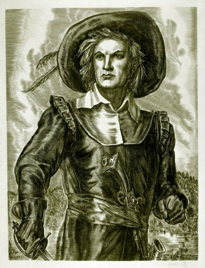 Paul de Chomedey, Sieur de Maisonneuve (1612-1676) was a French military officer and the founder of Montréal.