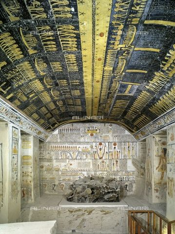 Tomb of Ramses VI, Thebes, Valley of the Kings…Egypt, (UNESCO World Heritage List, 1979)