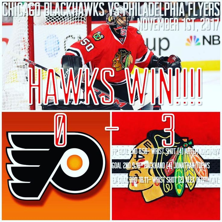 The Chicago Blackhawks finally broke out of their 3 game slump with a 3-0 victory over the Philadelphia Flyers on Wednesday night. There were no goals until the second period when Artem Anisimov scored a POWER PLAY GOAL (!!!!) which broke a long power play drought for the Hawks. Just 20 seconds later Jonathan Toews scored a breakaway beauty on a backhand through the five hole of Brian Elliot. Throughout the entire game Corey Crawford was a brick wall as he stopped all 35 shots he faced for…