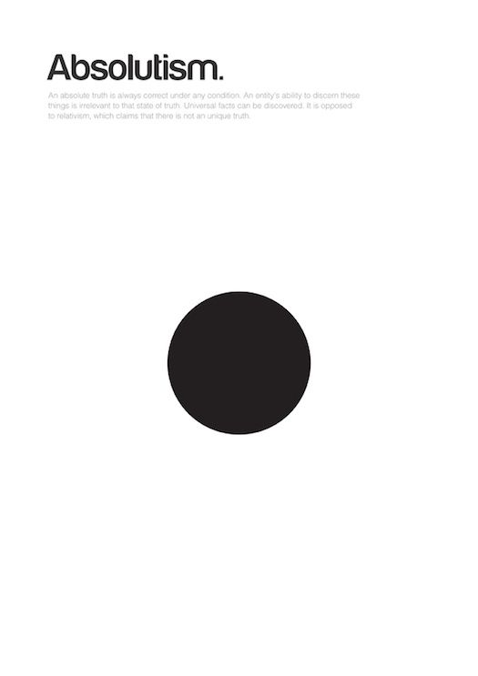 Designer Genis Carreras' philographics project seeking to capture philosophies through simple geometric shapes.  Whether you agree or disagree whether they are all completely accurate, they are quite compelling.