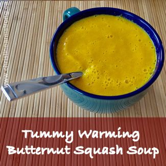 Tummy Warming Butternut Squash Soup