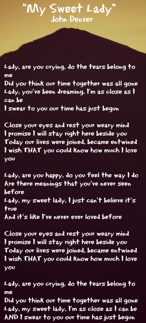 John denver grandma s feather bed sheet music - I Ve Always Loved This Song Thank You John Denver For This Marvelous