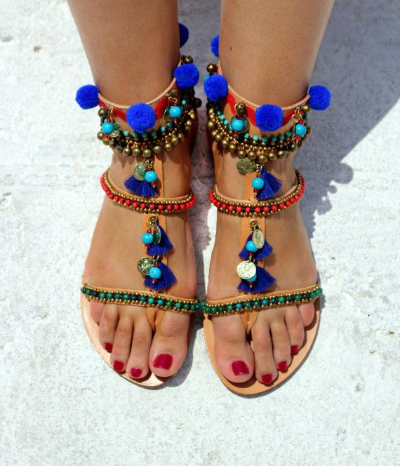 25 Best Images About Bohemian Sandals On Pinterest Boho