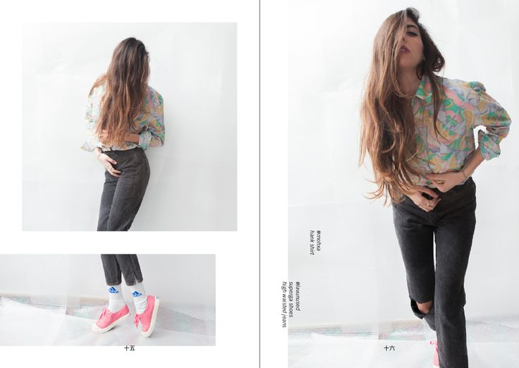 superga shoes, high wasted jeans & mohxa shirt