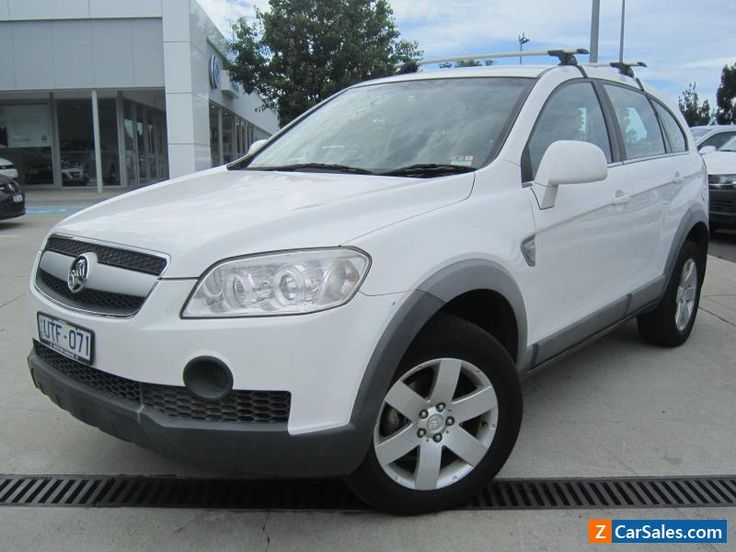 2007 Holden Captiva CX 7 Seater 4 Door Automatic Diesel  #holden #captiva #forsale #australia
