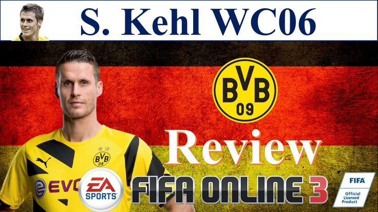 S. Kehl WC 06 Review - Đánh giá chi tiết Sebastian Kehl WC 06 World Cup 2006 Fifa Online 3 FO3 | S. Kehl WC 06 vs ss06 ss07 ss08 ss09 ss10 Review in Trong Fifa Online 3 14 15 16 | I Love FO3