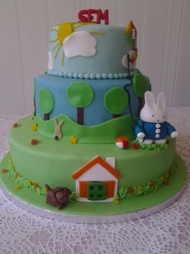 Nijntje / miffy cake