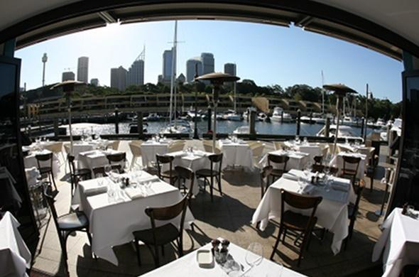 Otto Ristorante - Richard Ptacnik, address : Area 8, 6 Cowper Wharf Rd, Woolloomooloo, Sydney