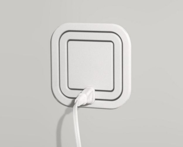A 360-degree electrical outlet #backtothefuture