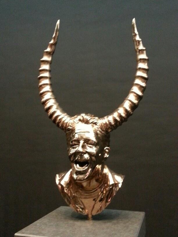 Jan Fabre Chapters I-XVIII Waxes & Bronzes (KMSK Brussel)