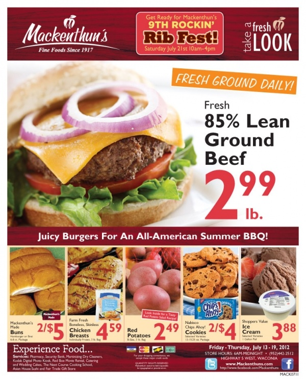 july 4th food prices
