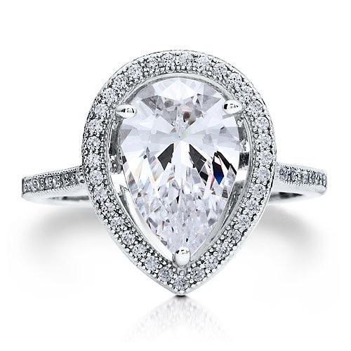 tear drop diamond. but seriously.