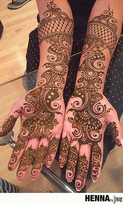 ~ HENNA DESIGNS ~ Previous pinner writes: 2015 Mehndi Maharani Finalist: Henna By Jas