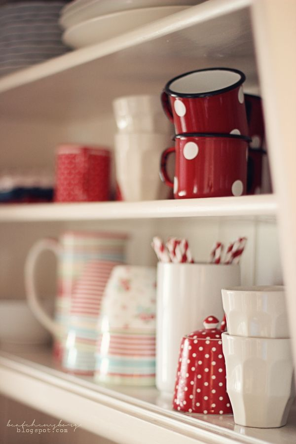 Kitchen shelves #organization