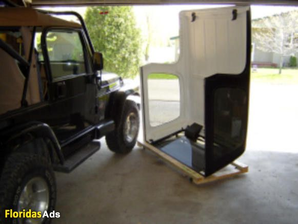 Jeep Wrangler Hard Top Dolly Plans DETAILS Instructions to build a Jeep Wrangler Hardtop Storage Dolly which will hold your standard factory hardtop, aftermarket hardtops, and ...