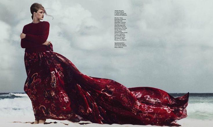 Harper's Bazaar Spain - Bandera roja